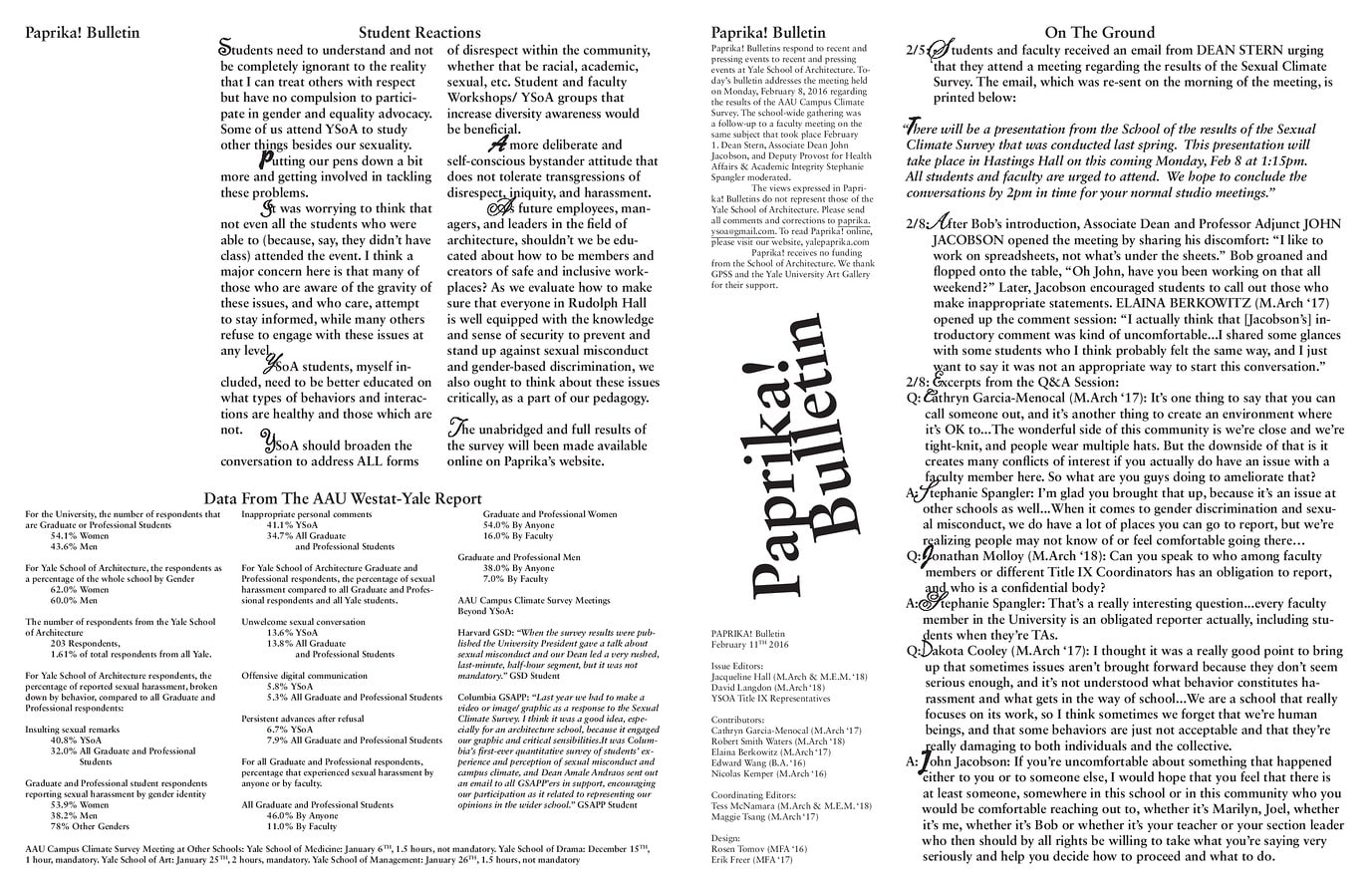 1-B AAU Westat-Yale Report