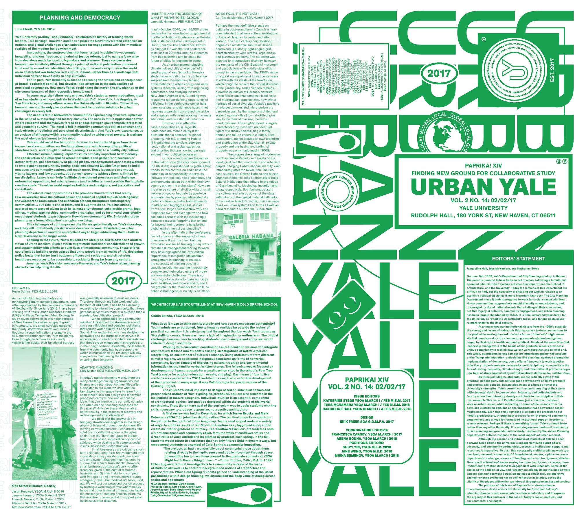 2-14 Urban Yale