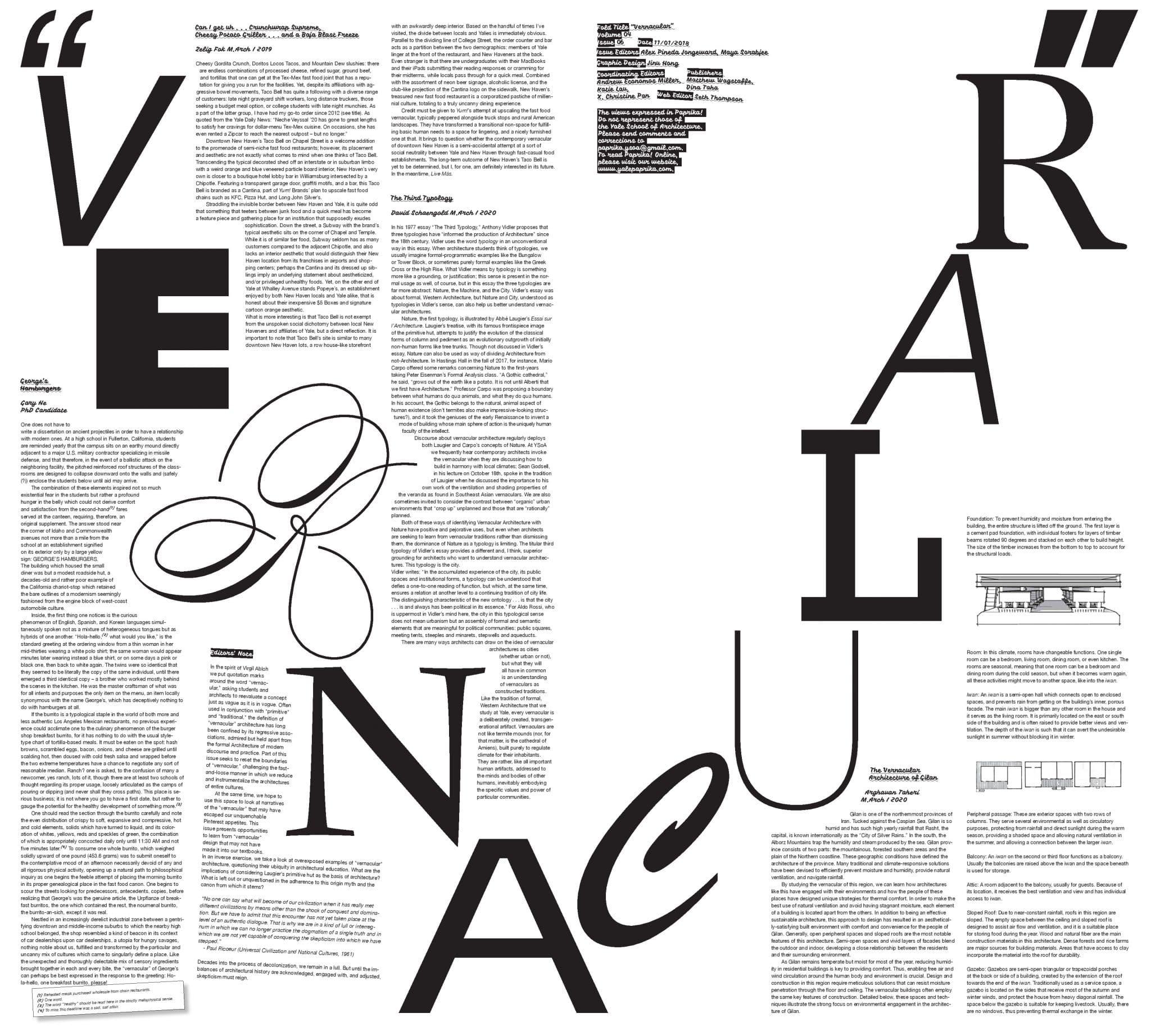 """04-06 """"Vernacular"""""""